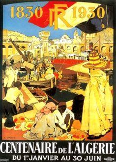 CENTENAIRE ALGERIE FRANCAISE RALLYE SAHARIEN TOURISME 8 PUBLICITE ANCIENNE