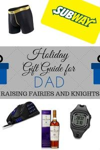 Holiday Gift Guide for DAD - Dad's can be hard to shop for, here is a Holiday Gift Guide for Dad, husband, father, men, whomever, if he is a guy you can't go wrong with these ideas!