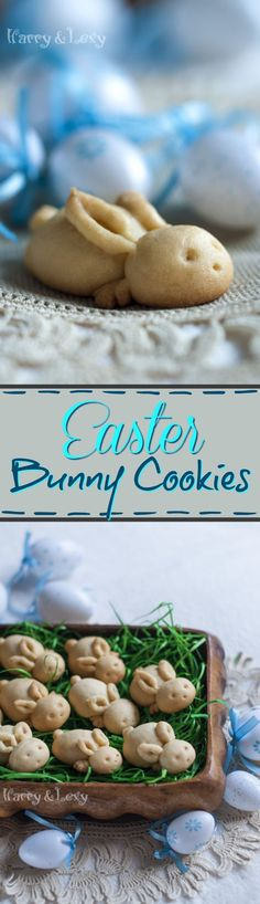 Super easy, this recipe for Bunny Cookies is the perfect for Easter