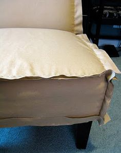 How To Make A Slipper Chair Slipcover