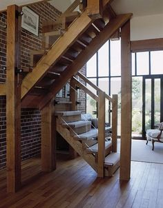 barn stall railing and stairs - Google Search