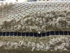 Tessuti eterei realizzati a mano con inserti in seta...