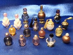 Perfume Bottles - Dollhouse Miniatures -  Minis of Cockerina blog