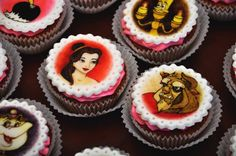 #beauty #beast #cupcakes