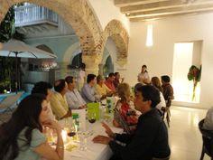 Un cena especial para al firma de seguros Skandia.
