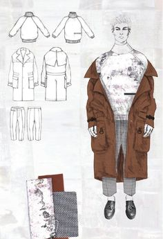 Fashion Sketchbook - fashion illustration; fashion design drawings; fashion portfolio // Robyn Priestley