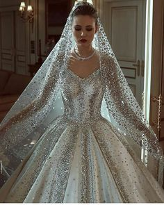 Trendy wedding dresses ball gown bling beautiful bridal collection 66 Ideas The post Trendy wedding dresses ball gown bling beautiful bridal collection 66 Ideas appeared first on Wedding. Princess Wedding Dresses, Dream Wedding Dresses, Bridal Dresses, Gown Wedding, Wedding Makeup, Diamond Wedding Dress, Bouquet Wedding, Wedding Bride, Wedding Reception
