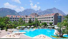 Fame Residence Göynük - All Inclusive ve městě Kemer Hotels In Turkey, Turkey Holidays, Turkey Travel, All Inclusive, Antalya, Front Desk, Where To Go, Trip Advisor, Bali