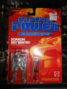 Captain Power action figure, these went with a tv show, a interactive show. I had all of them they were awesome!!