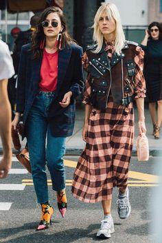 Streetstyle на Неделе моды в Нью-Йорке. Часть 2 | Мода | STREETSTYLE | VOGUE