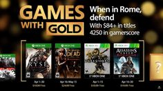 Jocurile Gratuite ale lunii Aprilie pentru Xbox One și Xbox 360 cu Xbox Live Gold Xbox One, Microsoft, First Love, Video Games, Android, Star Wars, Live, Collaboration, Iphone