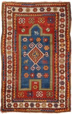 Lot 553. Fachralo-Kazak circa 1900. Schuler auction including carpets 17 September 2014