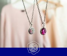 Beautiful from back to front! ♥ We love Tacori girls! And we love to give them a GIFT. This weekend #Capri #Jewelers#Arizona ~ www.caprijewelers... is giving back Gift cards with Tacori! Schedule your appointment today!! ♥  #tacori #gift #500 #rings #tacorievent #capri #jewelers #az#chandlerfashioncenter Red #pendant from the City Lights collection