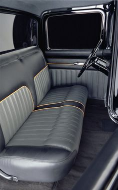 Chip Foose 1956 Ford F100 interior