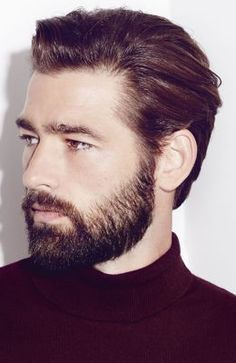 Men's Hairstyle Gallery showcasing photos of the latest haircuts for men. Perfect for inspiration or new hairstyle ideas, and you can print all our hairstyle photos to take to your stylist. Mens Medium Length Hairstyles, Haircuts For Medium Hair, Medium Hair Cuts, Long Hair Cuts, Haircuts For Men, Medium Hair Styles, Medium Length Hair Men, Long Hair Beard, Hipster Hairstyles
