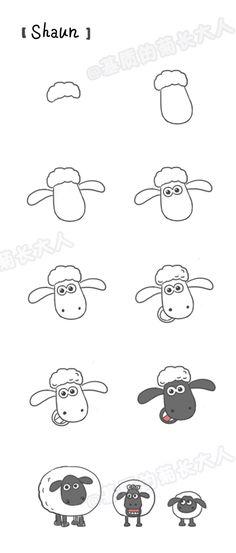 Shaun the Sheep from @基质的菊长大人