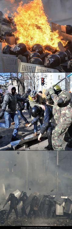 Political strife in Ukraine 2014