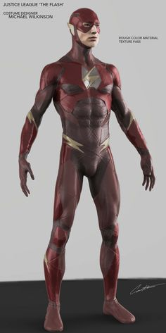Early designs for 'The Flash' Justice League Original Flash, Justice League Comics, Flash Barry Allen, Justice Society Of America, Dc Rebirth, Fastest Man, Central City, Silver Age, Dc Heroes