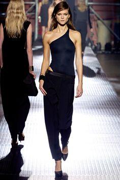 Lanvin runway, love the bodysuits.