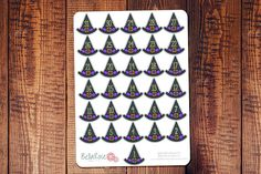 Halloween Planner Stickers by Bella Rose Paper Co #planneraddict #halloween #fall #planner
