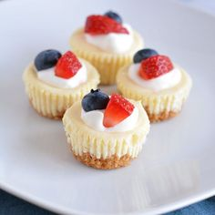 #thereciperedux turns 6 years old this week. To celebrate we are sharing our favorite small bite desserts. My cheesecake bites #ontheblog are perfectly decorated for 4th of July. @thefeedfeed #minidesserts * * * * * #buzzfeast #rdchat #huffposttaste #f52grams #epicurious #feedfeed #foodporn #ktchn #eeeeeats #instafood #instayum #getinmybelly #dessert #lowsugar