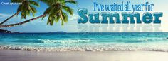I've waited all year for Summer Facebook Cover coverlayout.com