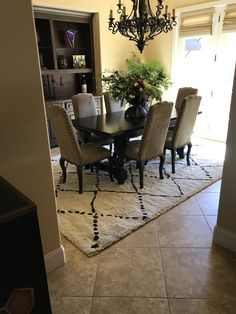 ⭐️⭐️⭐️⭐️⭐️ 5 star review: Love my new rug Great buying experience through Incredible Rugs.    Quality exactly as expected. Love it Complimentary Color Scheme, Shag Rugs, Color Schemes, This Is Us, Area Rugs, Dining Table, The Incredibles, Star, House