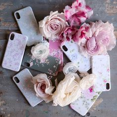 Beautiful blooms for your phone. Select from one of eight classic Shabby prints to protect your tech. Currently only available for the IPhone X model. Shabby Chic Sofa, Shabby Chic Style, Vintage Inspired, Floral Prints, Iphone Cases, Bloom, Gift Wrapping, Beautiful, Backgrounds