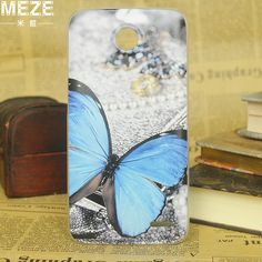 latest high-end luxury vogue colorful painting plastic brand hard case cover for lenovo a820