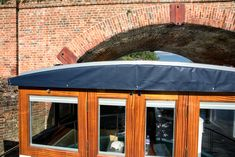 After months of waiting Wanderlust finally floats in 14 feet of water in berth at Thames & Kennet Marina. The busy marina is located just outside of the London commuter suburb of Reading o… One Day, Gazebo, Outdoor Structures, London, Wanderlust, House, Kiosk, Cabana