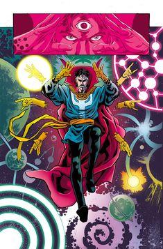 Doctor Strange Comic, Doc Strange, Strange Art, Manga Anime, Anime Art, Doctor Stranger, Spider Gwen, Geek Art, Weird Art