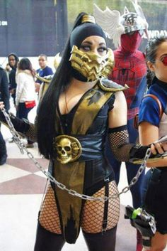 lady scorpion new york comic con 2012 picture by aggressive comix super hero shirts gadgets