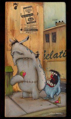 zozoville Monster - Monster Eis