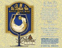 La Belle Vie White Wine - Potomac Point Winery
