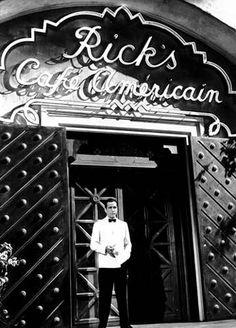 Casablanca, My favorite black and white movie!