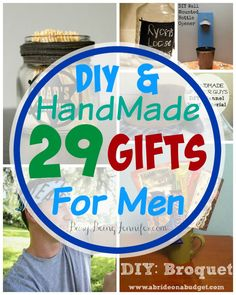 Manly do it yourself boyfriend and husband gift ideas masculine 29 diy gifts for men solutioingenieria Choice Image