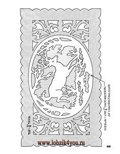 Художественное выпиливание .:. Classic Fretwork Scroll Saw Patterns (Sterling 1991 год)_70
