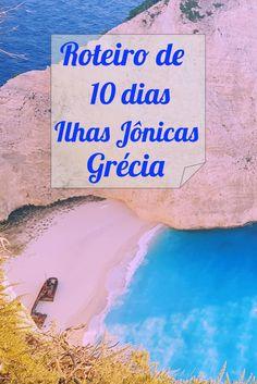 Roteiro de 10 dias pelas ilhas Jônicas ( #Zakynthos, #Corfu, #Kefalonia e #Lefkada) na Grécia.  Navagio Beach em tons de rosa e mar azul. #grecia #navagiobeach