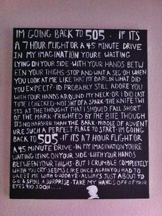 arctic monkeys... used to listen to this song on repeat years ago because of the lyrics...