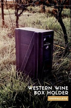 I think we all like boxed wine. You save a lot of glass bottles, it is better for the environment, and the only problem is it comes in a cardboard box. That makes them easy to transport, stack, and produce, but honestly, they are not very decorative, and you will not put them on the table. #PalletWineCrates, #RecyclingWoodPallets, #Rustic, #ShouSugiBan, #Wine, #WineBox, #Woodworking #PalletBoxesChests