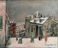 Maurice Utrillo - House of Mimi Pinson ca 1923