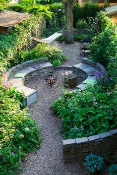 Jardin acogedor