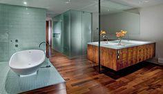 Bathroom is the most important space in any house. We just cannot ignore the decoration of the bathroom while planning to renovate our house. In the recent interior decoration, home design and architecture dedicates plenty of space for bathrooms. The reason for this is simple people want it because it's luxurious and pleasant to have …