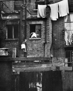 Photograph-Two girls climbing drainpipe, Balham, SW London-Photograph printed in the USA Fine Art Prints, Framed Prints, Canvas Prints, Open Window, Climbing Clothes, Two Girls, Thing 1, Wonderful Images, Poster Size Prints