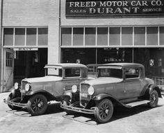 Early General Motors....