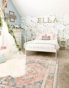 Interior Design Living Room, Living Room Decor, Bedroom Decor, Bedroom Ideas, Diy Little Girls Room, Little Girls Room Decorating Ideas Toddler, Pastel Girls Room, Modern Room Decor, Home Decor