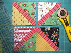 Great tutorial for a quick and easy quilt using charm packs.....