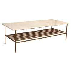 brass/marble coffee table. need/want.