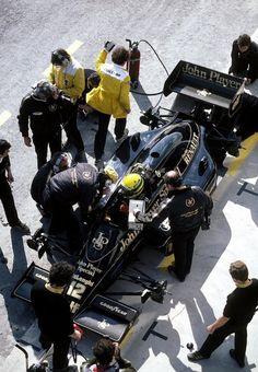 Ayrton Senna Lotus - Renault 1986