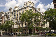 Barrio de Salamanca.  Viviendas para el marqués de Valderas (1914 - 1918). DeLuis Sainz de los Terreros  Ortega y Gasset, 19 - 21